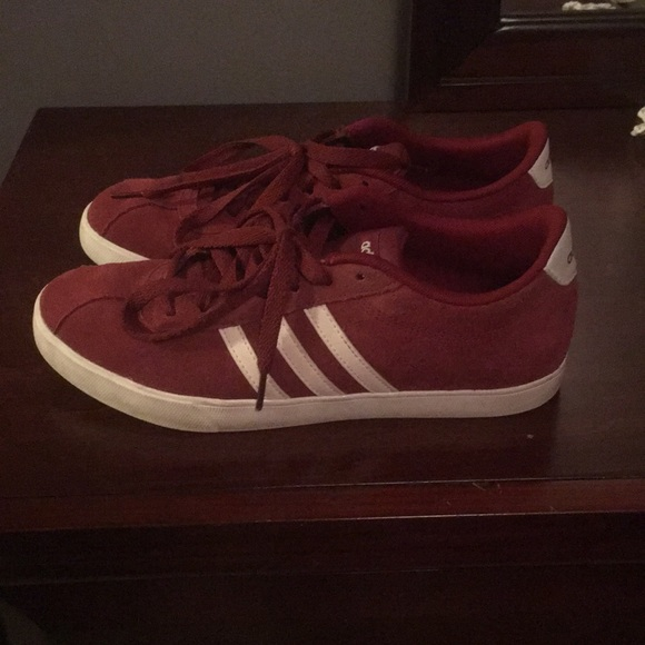 Adidas Courtset Womens Suede Sneakers